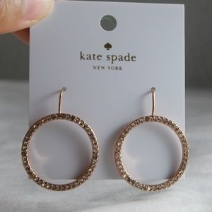 Rose Gold Circular Earrings